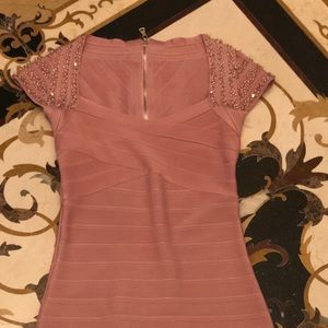 Herve Leger style dress. Perfect shape never worn